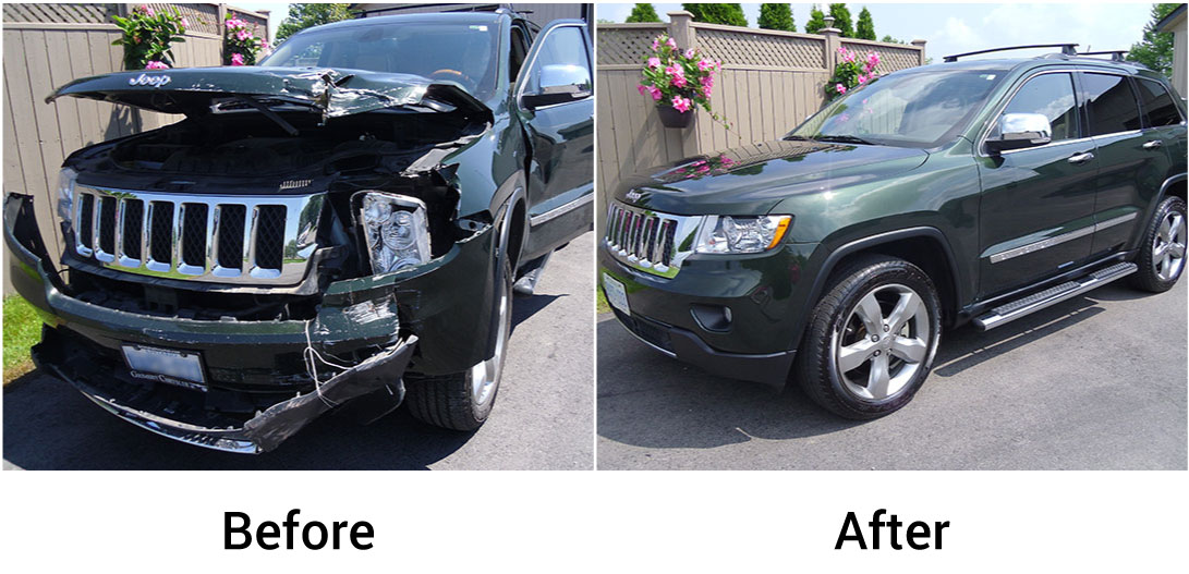 before after BMW